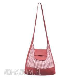 b83e5995ffec5 ... na ramię 26-0006 biało-czerwona torebka worek zakupy humming-bird