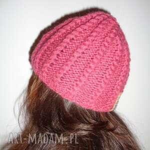 limochka piękna autorska czapka - warkocz, unikat, ręczniewykonana, projekt