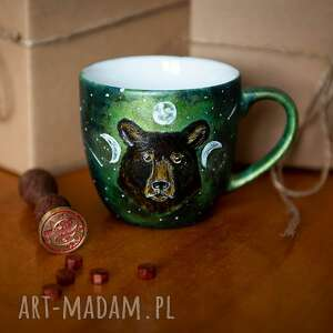 handmade kubki kubek do kawy - niedźwiedź