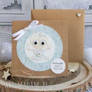 kartki personalizowana kartka dla dziewczynki - narodziny, chrzest, roczek, urodziny