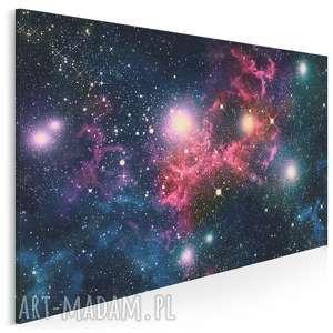 obraz na płótnie - kosmos niebo 120x80 cm 10501, kosmos, niebo, gwiazdy