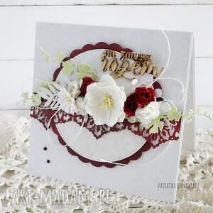 scrapbooking kartki kartka ślubna w pudełku, 863, ślub, wesele