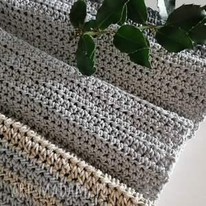 handmade podkładki szydełkowy bieżnik sznurk 2