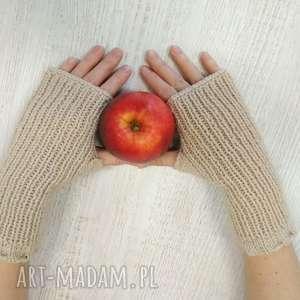 mitenki, rękawiczki, drutach, szydełkowe, prezent, włóczkowe