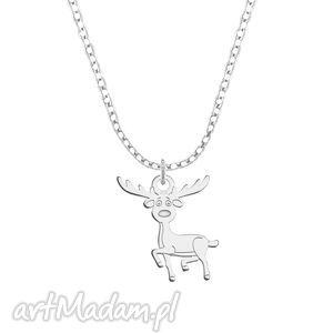 celebrate - reindeer - necklace lavoga - łańcuszek, celebrytka