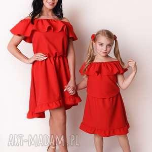 LATORI - Sukienka Dziewczęca hiszpanka z kolekcji Mama i Córka dla córki LD42/4