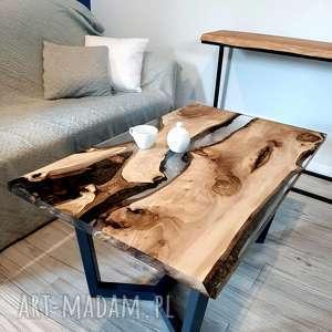 handmade stoły stolik kawowy orzech 2, kolekcja orzech włoski