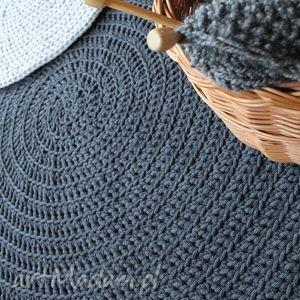 Dywan dark grey lucy and kucy dywan, chodnik, dywanik, sznurek