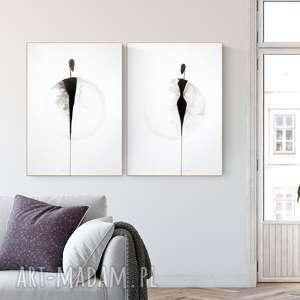 zestaw 3 grafik 50x70 cm wykonanych ręcznie, obrazy ręcznie malow, grafiki