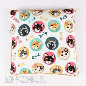 poduszka w koty !, poduszka, koty, jasiek