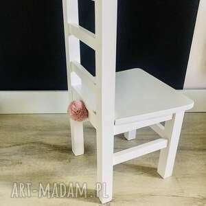 krzesełko dla dziecka białe meble pokój dziecka