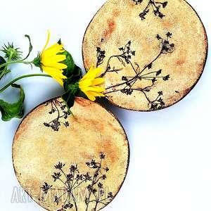 hand-made ceramika patery ceramiczne