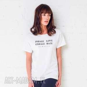 inhale love t-shirt oversize