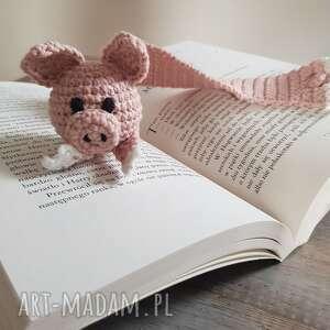 maart zakładka do książki świnka, książki, pomysł