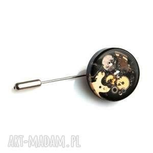 unikalny, pin - mechanical black, pin, trybiki, żywica, unikat, prezent