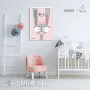 ręcznie zrobione pokoik dziecka timosimo - autorski plakat w stylu skandynawskim