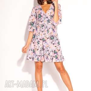 Sukienka alana sukienki pawel kuzik letnia, kwiaty, romantyczna