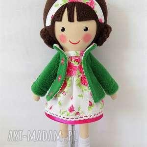 Prezent MALOWANA LALA RÓŻYCZKA, lalka, zabawka, przytulanka, prezent, niespodzianka