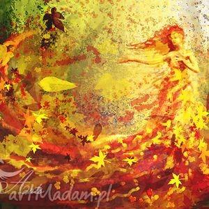 obrazy obraz - jesień - pótno - obraz