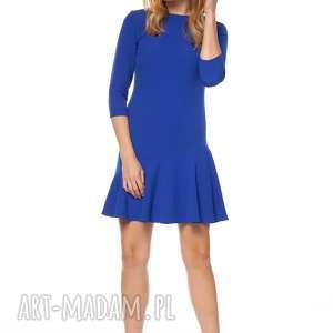 Sukienka tijana sukienki pawel kuzik falbana, mini, asymetryczna