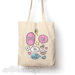 torba - kolorowe, torba, bawełna, eco, prezent