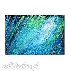 aleksandrab głębia 12, nowoczesny obraz ręcznie malowany, obraz, abstrakcja
