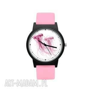 Zegarek z silikonowym paskiem keep smile zegarki laluv meduza