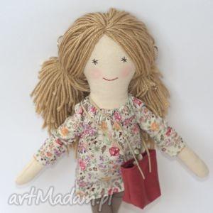 Prezent Lalka Lisa - wiosenna łączka, lalka, szmaciana, prezent, marshala, shopperka