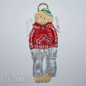 handmade pomysł na prezenty świąteczne do kumpla idę - anioł z masy