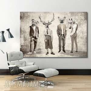 Prezent Obraz na płótnie - Chłopaki :-) 02135 120x80 cm wysyłka w 24h, obraz