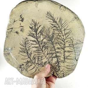 Prezent Patera ceramiczna - natura, kichnia, dekoracja, prezent, sztuka, patera, misa