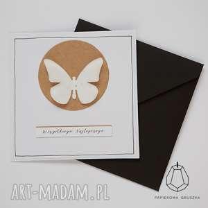 kartka z motylkiem , kartka, urodzinowa, urodziny, motyl, motylek, dziewczynka