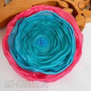 kwiatuszek - broszka - kwiat, broszka, modna, elegancka, ślub