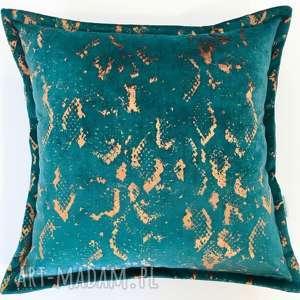 Poduszka modern emerald poduszki manufaktura firan poduszka