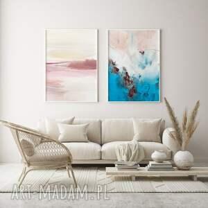 plakaty puder i laguna - zestaw plakatów 30x40