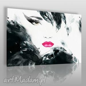 vaku dsgn obraz na płótnie - kobieta glamour 120x80 cm 21801, kobieta, twarz