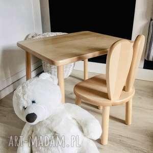 hand made pokoik dziecka stolik i krzesełko dla dzieci