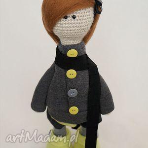 szydełkowa lalka colleen - dekoracja, prezent