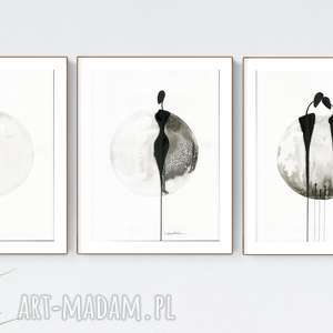 minimal art zamówienie, obrazy ręcznie malowane, grafiki do salonu