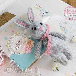 Szydełkowa królisia - gotowa do wysyłki zabawki makama2 królisia