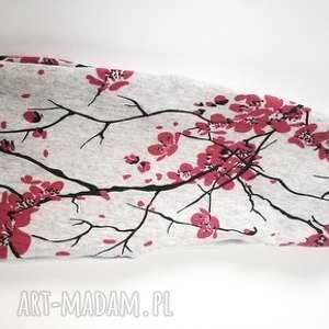 opaska szara orientalna bawełna na podszewce, orient, boho, sport, etno,