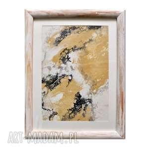 acqua di follia 22, abstrakcja, obraz, ręcznie, malowany, abstrakcja