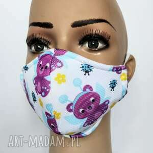 maseczki maska ochronna dla dzieci z filtrem klasy f7, maska, kolorowa