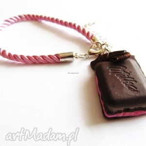 handmade bransoletki bransoletka czekoladka