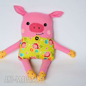 Chrumka, świnka z klasą - Tosia, świnka, dziewczynka, kolorowa, roczek, dzień