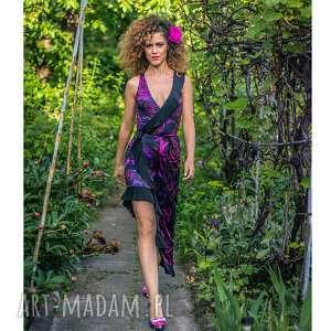 ręcznie robione sukienki elena magic rose