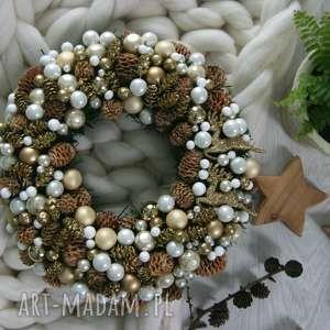 pomysł na prezent święta wianek bożonarodzeniowy, wianek, xmas