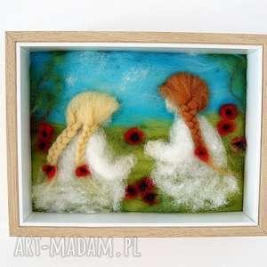 magisches-atelier łąka pełna maków obraz z kolekcji die