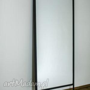 lustro asal industrialne do loftu szkło i stal, lustro, industrialne, loftowe
