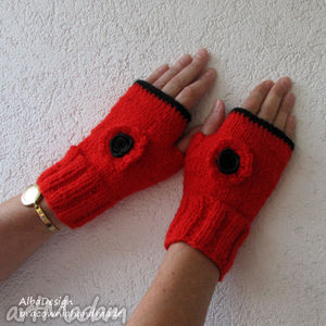 ręcznie robione rękawiczki